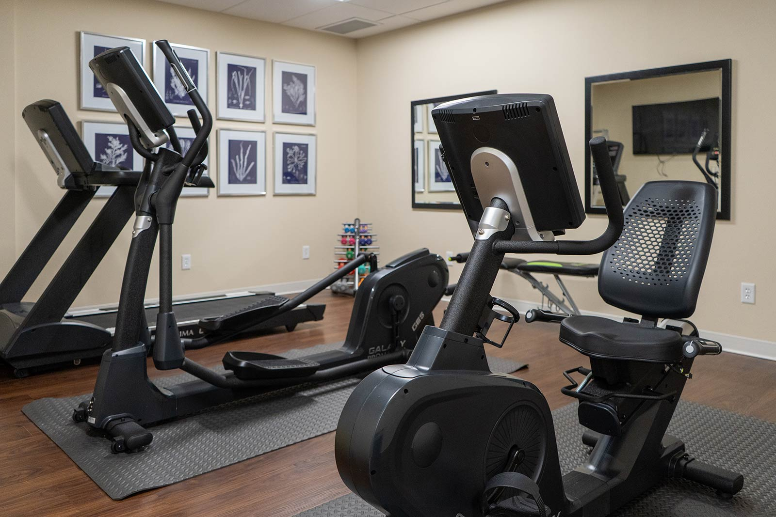 Fitness Center At Seagrass Village Of Panama City Beach