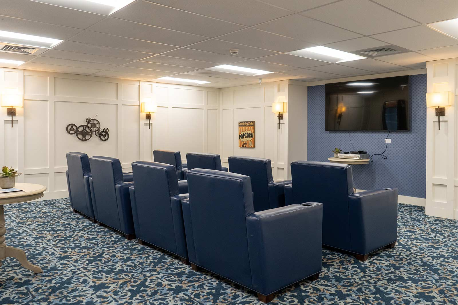 Movie Theater At Seagrass Village Of Panama City Beach