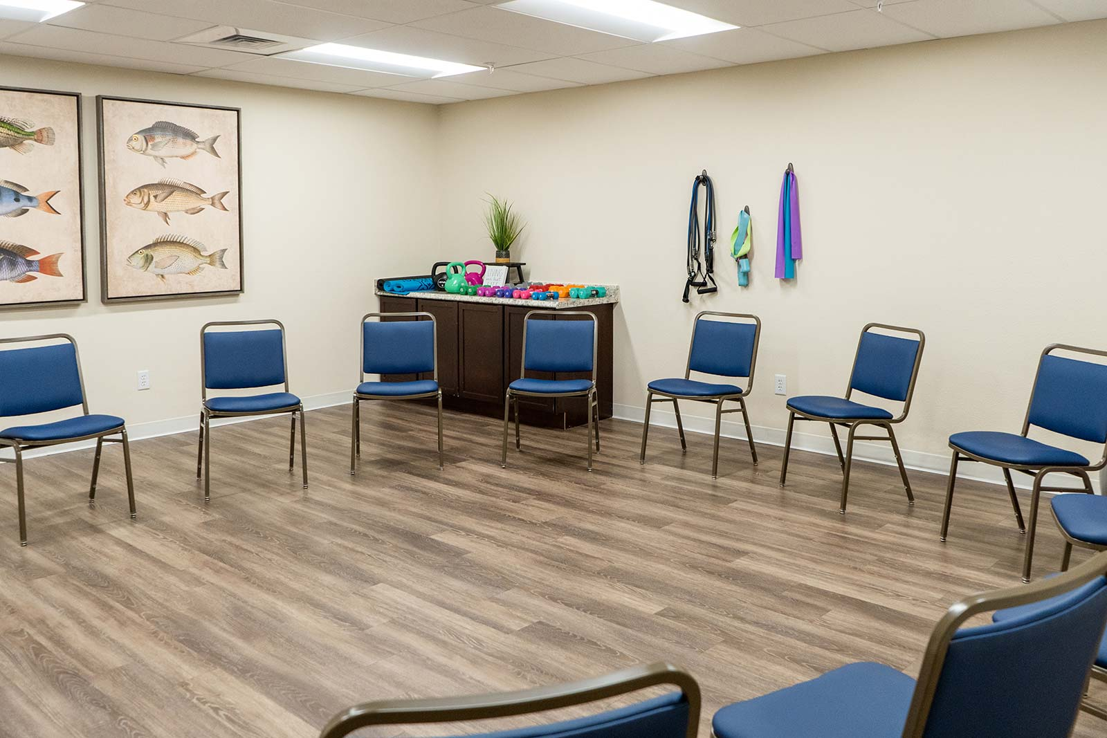 Fitness Class Room At Seagrass Village Of Panama City Beach
