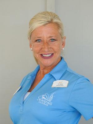 Kim Redding Headshot Seagrass PCB
